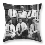 Scientists To Defend Scopes Throw Pillow