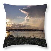 Scituate Harbor Ma Throw Pillow