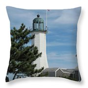 Scituate Light Five Throw Pillow