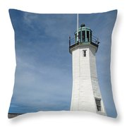Scituate Light Four Throw Pillow