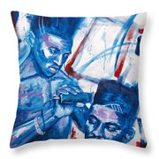 Scoob And Kane Throw Pillow by The Styles Gallery