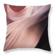 Flowing Into Eternity Throw Pillow