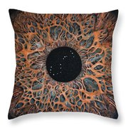 Scorpio Eye Constellation Throw Pillow