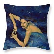 Scorpio From Zodiac Series Throw Pillow