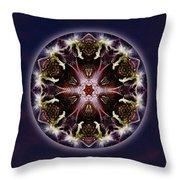 Scorpio Moon Warrior Throw Pillow