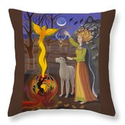 Scorpio / Morrigan Throw Pillow