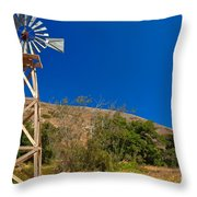 Scorpion Windmill Throw Pillow