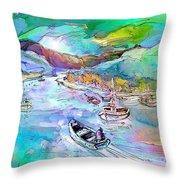 Scotland 24 Throw Pillow