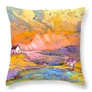 Scotland 27 Bis Throw Pillow