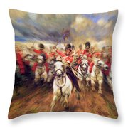 Scotland Forever  Throw Pillow