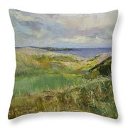 Scotland Landscape Throw Pillow by Michael Creese