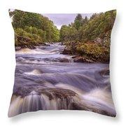 Scotland's Falls Of Dochart - Killin Scotland Throw Pillow
