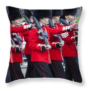Scots Guards Throw Pillow