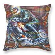 Scott 2 Throw Pillow by Mark Jones