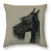 Scottish Delight Throw Pillow