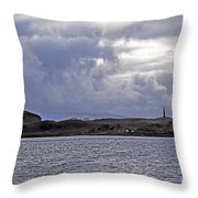 Scottish Storm Throw Pillow