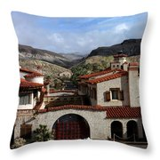 Scotty's Castle Throw Pillow