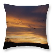 Scramble Scramble Throw Pillow