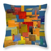 Scrambled Eggs Lv Throw Pillow
