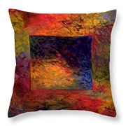 Scratch  -  Prints Available But Original Sold Throw Pillow