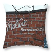 Scratch Magoo's Wilmington De Throw Pillow