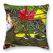 Scream If You Want To Go Faster Throw Pillow