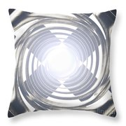 Screaming For Attention Throw Pillow