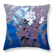 Screaming Reflection Throw Pillow