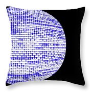 Screen Orb-09 Throw Pillow