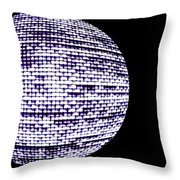 Screen Orb-15 Throw Pillow