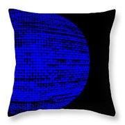 Screen Orb-16 Throw Pillow