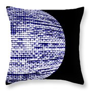 Screen Orb-18 Throw Pillow