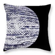 Screen Orb-20 Throw Pillow