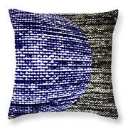 Screen Orb-23 Throw Pillow