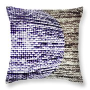 Screen Orb-26 Throw Pillow