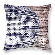 Screen Orb-33 Throw Pillow