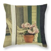Screened Porch Throw Pillow