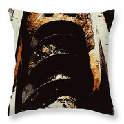 Screw Archimedes 2 Throw Pillow