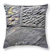 Screwed Between Stones Of Firenze Throw Pillow