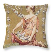 Scribners Fiction Number 1895 Throw Pillow