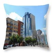 Scripps Center In Cincinnati Throw Pillow