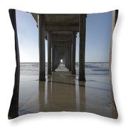 Scripps Pierla Jolla California Throw Pillow