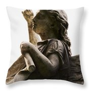 Scroll Of Lives Throw Pillow