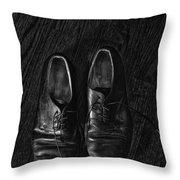 Scuffed Throw Pillow
