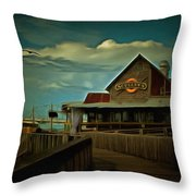 Sculley's Throw Pillow