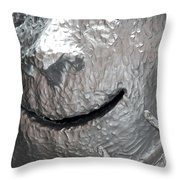 Sculp Face Throw Pillow