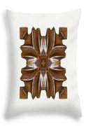 Sculpted Mandala Yantra Throw Pillow