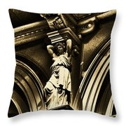 Sculpture At Please Touch Museum-2 Throw Pillow