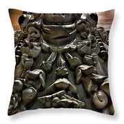 Sculpture At Please Touch Museum Throw Pillow