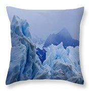 Sculpture In Blue Throw Pillow